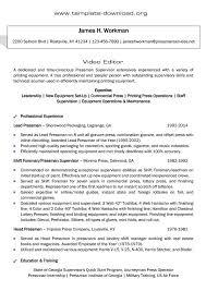 Editor Resume Sample – Goodvibesbrew.com