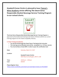 bh offering smart serve burlington hospitality foodservice bh1187 offering smart serve burlington hospitality foodservice jobs halton