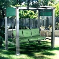 outdoor canopy swing glider bench with canopy swing astonish patio face to decorating ideas porch outdoor outdoor canopy swing