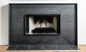 sheet metal fireplace surround regarding decor 0