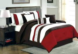 Red Bedroom Sets Dark Red Comforter Set Bedroom Comforter Set Red ...