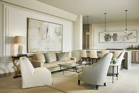 Here's a view of the living room designed by Ann Sutherland for The Ritz  Carlton Residences