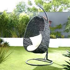hanging basket chair chairs outdoor char egg rattan wicker black r68