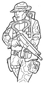 Kleurplaten Leger Soldaten