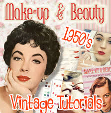 1950s makeup tutorials books and videos