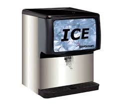scotsman id250b 1 ice dispenser counter model 250 lb capacity