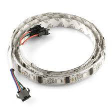rgb led strip led m addressable m com sparkfun rgb led strip 32 led m addressable 1m