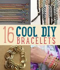 placard cool diy bracelets