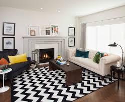 living room coffered ceiling design blue rug white fur rug white bed living room decorating window