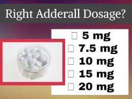 Adderall Mg Chart What Is The Right Amount Of Adderall Dosage Ezcareclinic Com