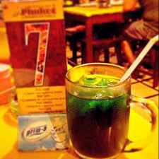 Image result for Thai green milk tea images