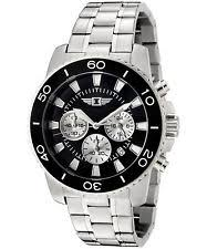 invicta men s watches stainless steel new used i by invicta men s 43619 001 chronograph stainless steel black dial watch