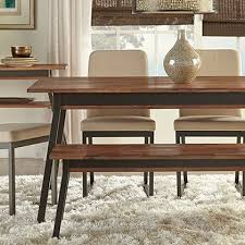 modern dining table with bench. Modern Dining Benches + Stools Table With Bench