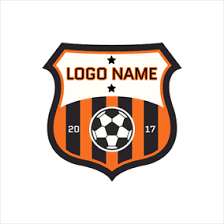 star soccer ball badge logo design