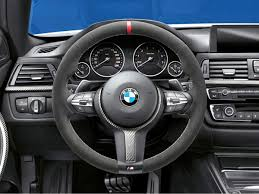 Coupe Series bmw m performance steering wheel : M Performance Steering Wheel, Alcantara with RED Stripe - M Sport