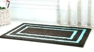 brown bathroom rugs bath rugs on blue and brown bath rug home design ideas blue