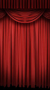 h5 red stage curtain background material red black red curtain background image