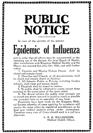 file spanish flu notice png  file spanish flu notice png