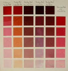 Umber Color Chart Acrylic Color Chart Color Mixing Chart Acrylic Painting