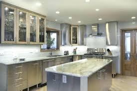 kitchen cabinet light oak dark grey granite kitchen modern white glossy frosted glass door of dark