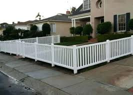 Vinyl picket fence front yard Backyard Vinyl By The Yard The Closed Top And Bottom White Vinyl Fence With Wide Pickets Perfectly Patrickgormleyinfo Vinyl By The Yard The Closed Top And Bottom White Vinyl Fence With