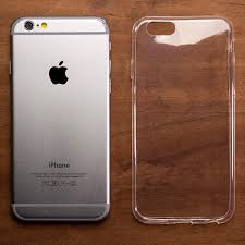 iphone 6 plus white. ultra thin transparent gel case - apple iphone 6 plus (5.5in) iphone white e
