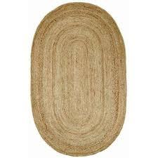 expert oval area rugs nuloom rigo jute natural 5 ft x 8 rug tajt03 508o