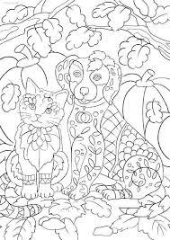 Cat And Dog Coloring Pages Beautiful Dog Coloring Page