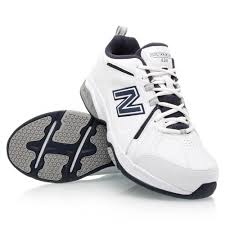 new balance 624. new balance 624 - mens cross training shoes white/navy