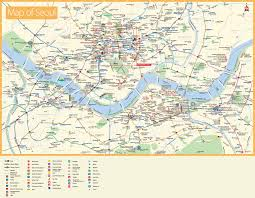 seoul tourist attractions map