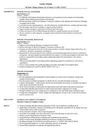 Wintel Engineer Resume Samples Velvet Jobs