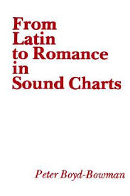 From Latin To Romance In Sound Charts By Peter Boyd Bowman