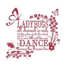 Ladybug Quotes Mesmerizing Ladybug Poems