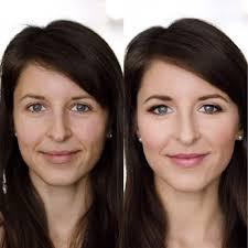 makeup transformation of bride