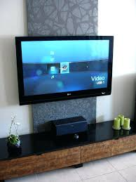 modern wall mount ideas hide cables on mounted tv uk