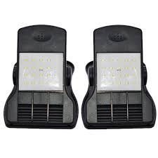 Clip On Solar Deck Lights Amazon Com W5bhj0 Solar Garden Wall Lamp 2pcs Solar Clamp