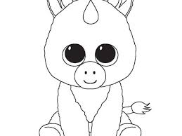 Fresh Ty Beanie Boo Coloring Pages And Print For Free Free