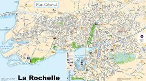 la rochelle tourist map
