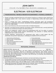 21 Electrical Foreman Resume Samples New Best Resume Templates