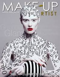 the issue of 39 make up artist 39 magazine is here this beautiful cover make up
