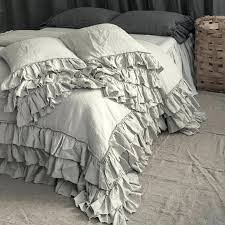 natural linen duvet cover king washed nz bedding set french style thick bedrooms exciting image 0