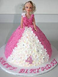 6 Barbie Cakes Designs Photo Walmart Barbie Birthday Cakes Barbie