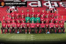 Manchester United - Players 18-19 Poster, Plakat
