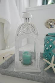 coastal lighting coastal style blog. Coastal Style Beach Decor, From Walmart - White Metal Lantern Better Homes And Gardens Fox Hollow Cottage Blog Shares Affordable Shopping Ideas At Lighting G