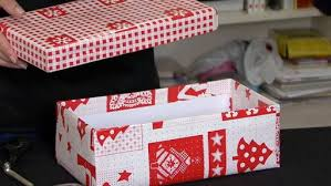 Image result for wrapped shoebox