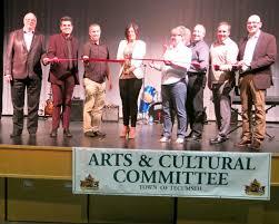 Inauguration du Centre des arts Tecumseh-l'Essor - Le Rempart