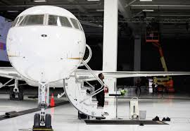 Gulfstream Stock Chart Bombardier Delivers Global 7500 Jet As Corporate Travel Race