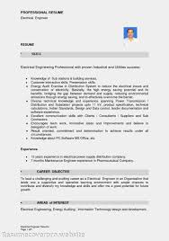 resume examples electrical engineering resume objective resume formats for engineers electronic engineer resume samples