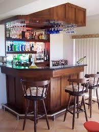 corner curved mini bar. Home Design And Decor , Mini Bar For : With Hanging Corner Curved B