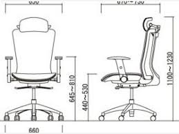 office chair dimensions comfortable standard desk